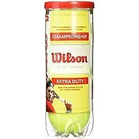 Wilson Champ Xd Tball 3 Pelotas de Tenis, Unisex Adulto, Amarillo (Yellow), Talla Única