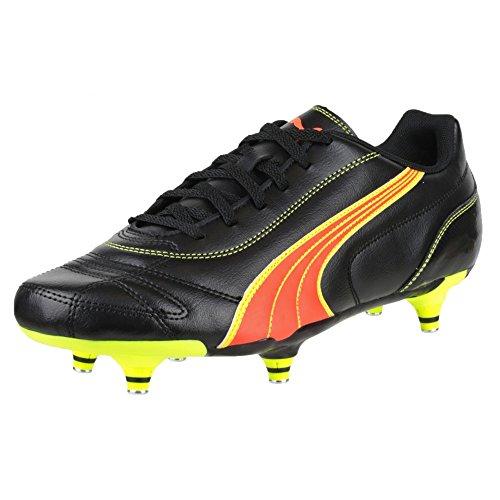 Puma Kratero - Chaussures de football à crampons vissés - Homme Black/Pea