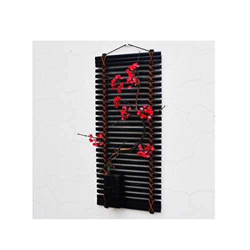 Gaoxingbianlidian001 decorazioni da parete, stile minimalista cinese, soggiorno camera da letto sala da pranzo tv arazzi, (fiori bianchi, fiori rosa, cartamo),decorazione (edition : b)