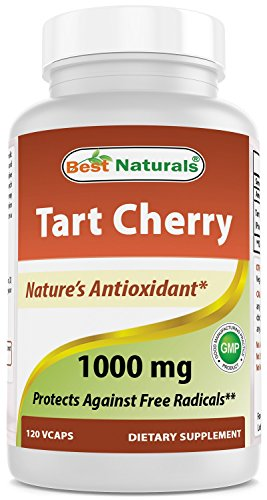 Best Naturals Tart Cherry Extract 1000 mg 120 Capsules by Best Naturals