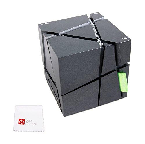 Bluetooth würfelförmige Lautsprecher und Pflegetuch aus Mikrofaser für Aldi Medion LifeTab LifeTab P10606 / P8524 / E10411 / X10311 (MD 60654) / P10603 / X10313 / P10327 / E10511 (MD 60637) / X10605 (MD 60656) / P10602 Tablet-PCs