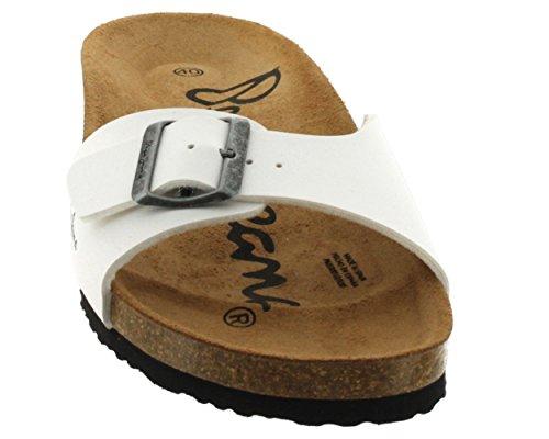 Pepe Jeans  BIM-290A,  Sabot/sandali uomo Bianco