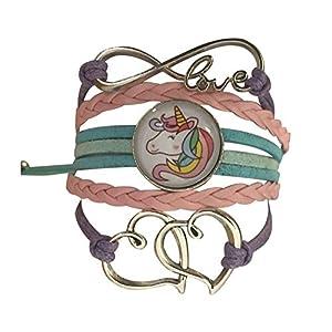 Collection Infinity Mädchen Einhorn Charm Armband Einhorn Schmuck für Mädchen