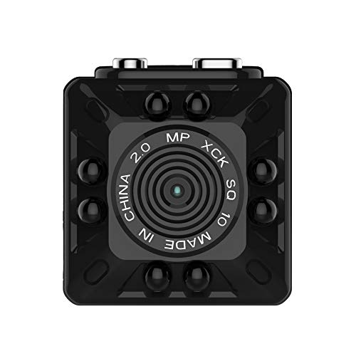 Carrfan Quelima SQ10 Mini Cámara Full HD Grabadora DVR para Coche Cámara...