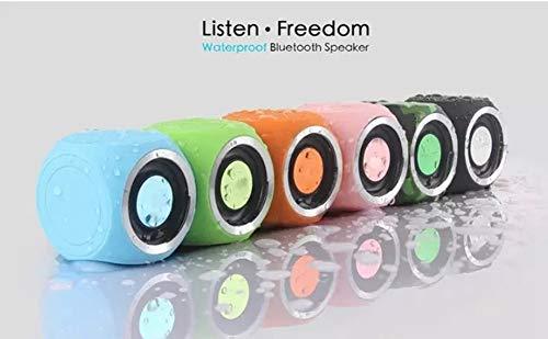 HS-TWYBYX Subwoofer Portable Bluetooth Musique Haut-Parleur Stéréo sans Fil BT Haut-Parleur Étanche Voyage Son (Couleur Aléatoire) 9