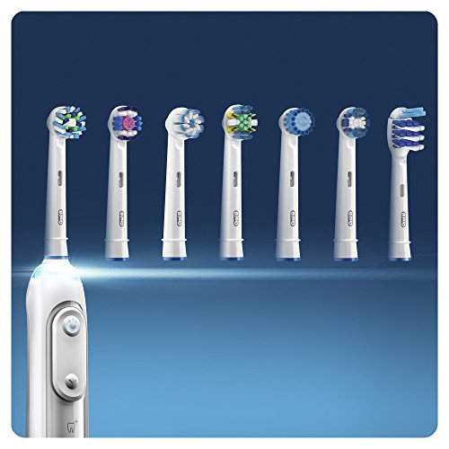 Oral-B PrecisionClean Electric Toothbrush Replacement Heads Powered by Braun – Pack of 8