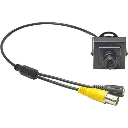 Ansice Mini-Lochkamera 540TVL CMOS mit 3,6mm-Weitwinkelobjektiv, Filter, versteckte Video-Überwachungskamera im Gehäuse 540tvl Mini