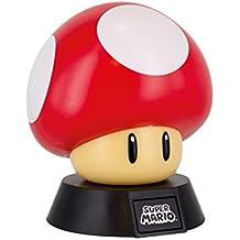 NINTENDO - Mushroom 3D Mini Light - 10cm : P.Derive