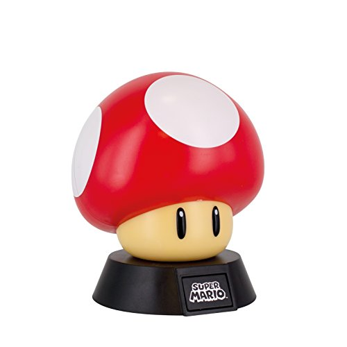 Super Mario Lámpara Mushroom, Multicolor