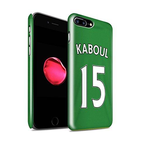 Officiel Sunderland AFC Coque / Clipser Brillant Etui pour Apple iPhone 7 Plus / Kirchhoff Design / SAFC Maillot Extérieur 15/16 Collection Kaboul