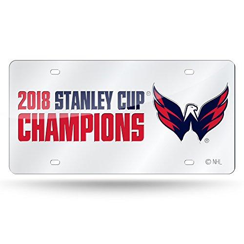 Rico Washington Hauptstädte Offizielles NHL 2018National Champions Nummernschild Spiegel von 390561 Washington Nationals-laser