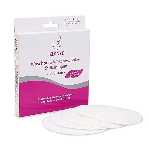 ELANEE 217-00 Waschbare Wäscheschutz-Stilleinlage -Premium-, weiß