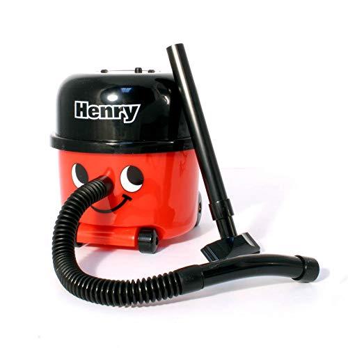 Monsterzeug Mini Staubsauger - Henry, PC Staubsauger für die Tastatur, Praktisches Bürozubehör, batteriebetrieben