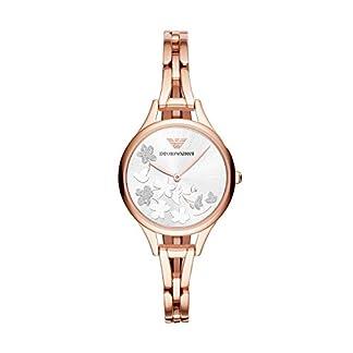 Emporio Armani Reloj Analogico para Mujer de Cuarzo con Correa en Acero Inoxidable AR11108