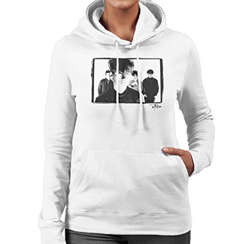 Tony Mottram Official Photography - Jesus And Mary Chain Band Shot Jim Reid Close Up Women's Hooded Sweatshirt