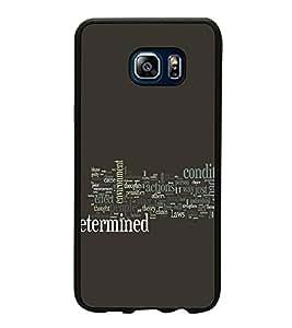 FUSON Designer Back Case Cover for Samsung Galaxy Note 5 :: Samsung Galaxy Note 5 N920G :: Samsung Galaxy Note5 N920T N920A N920I (Decorative design Grey color design Multicolor Lettering design Stylish lettering design Groups of words design)