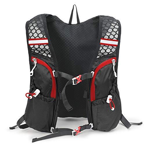 Lixada Mochila Hidratación 5L Mochila para Correr Ligera para Correr Ciclismo Equitación Excursionismo Alpinismo(Bolsa de Agua NO Incluida)