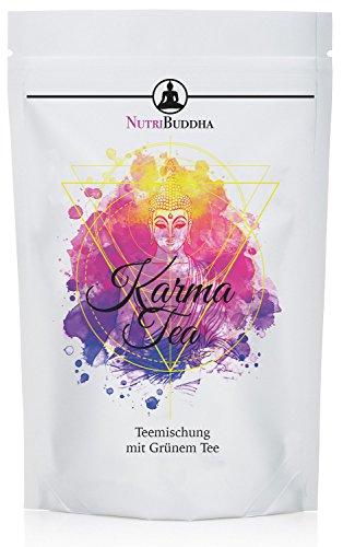 Karma Tea by Nutribuddha - natürliche Tee Kur - Grüner Tee, Original Grüner Roibusch und Mate Tee - Perfekte Begleitung zum Abnehmen