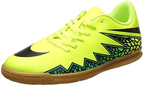 Nike Jr Hypervenom Phade Ii Ic, Chaussures de Football Mixte Enfant Jaune - Amarillo (Volt / Black-Hyper Turq-Clr Jade)