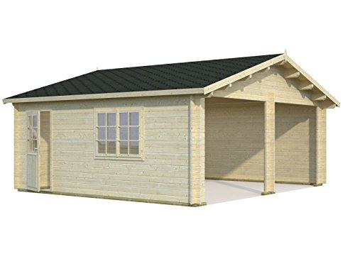 holz garagen bausatz fertiggaragen aus holz kaufen. Black Bedroom Furniture Sets. Home Design Ideas