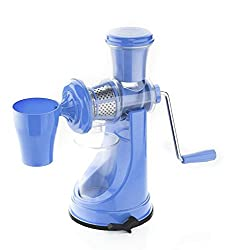 Active Fruit & Vegetable Juicer Mixer Grinder with Waste Collector, (Blue)
