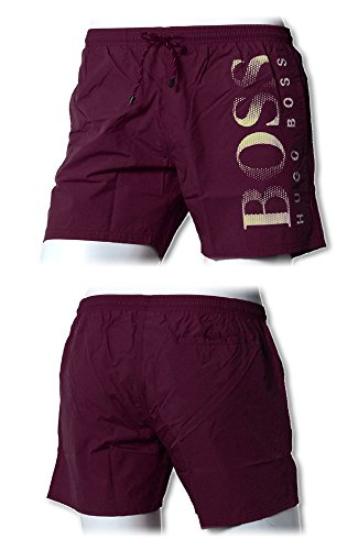 Hugo Boss BOSS Swimwear Badeboxer Octopus Dark Red (602)