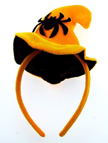 Inception pro infinite cerchietto - halloween - accessori - copricapo - costume - travestimento - cosplay - cappello - strega - ragno - arancione - nero