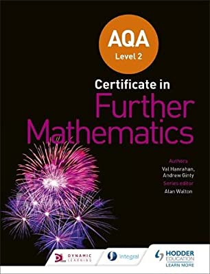 AQA Level 2 Certificate in Further Mathematics by Hodder Education