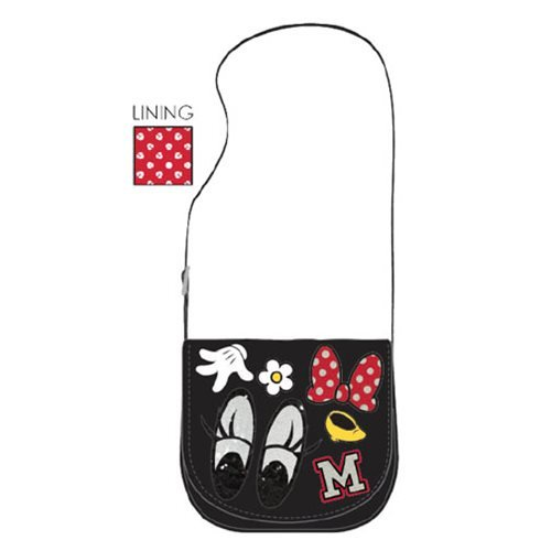 Loungefly Minnie Mouse Disney Patches Crossbody Bag Tasche
