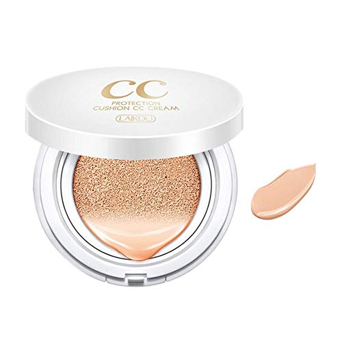 Supertop BB/CC Cream Air Cushion Foundation Compact Cover Moist Makeup SPF50+/PA+++ Medium Light 15g (0.5 Oz) -