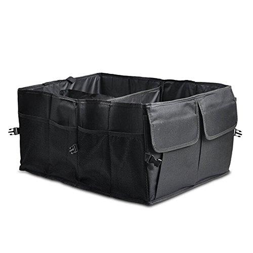 Preisvergleich Produktbild Fortag Auto Kofferraumtasche faltbare Autotasche Aufbewahrung für Home Kleidung oder Reise Urlaub Camping 60cm x 40cm x 26cm
