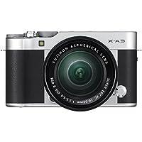 Fujifilm Kit X-A3 Silver + XC16-50mm II Argent Hybride à objectif interchangeable monture X pour objectif XF/XC Argent