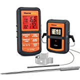 ThermoPro TP08 Digital Meat Food Thermometer for Kitchen Cooking BBQ Smoker Grill Oven Thermometer with Dual Probes, 300 Feet Wireless Remote Range