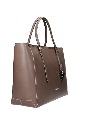 Borsa Donna in Pelle Guess Luxe Mod. LADY LUXE CARRYALL BAG HWLADYL4424 Col. Nero o Taupe. Taupe