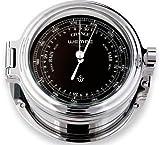 Barometer Regatta Chrom Ø 140mm - Schweremesser Druckmesser