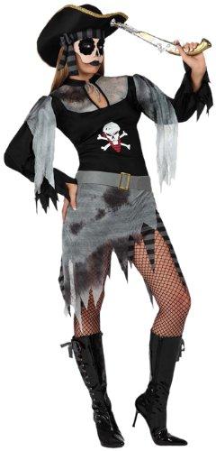 Atosa 8422259149446 costume da pirata zombie, taglia x