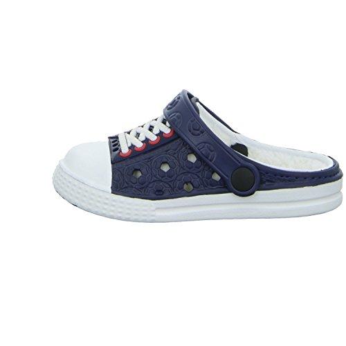 Sneakers KL3685 KL3685 Jungen Pantolette Warmfutter Blau (Blau)