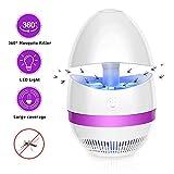 SUNNEST Schädlingsbekämpfer Insektenvernichter, Elektrischer Insektenvernichter UV Insektenfalle Mückenlampe Fluginsektenvernichter, Insektenlampe Intelligente Mückenvernichter