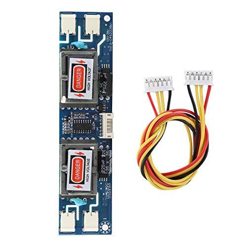Diyeeni Inverter Board, 10-28V 4 Birne 6PIN Feine Kunstfertigkeit Hochdruck Inverter Board, CCFL Inverter Board für 10-26 Zoll LCD-Bildschirm mit Hintergrundbeleuchtung (Lcd Bildschirm Inverter)