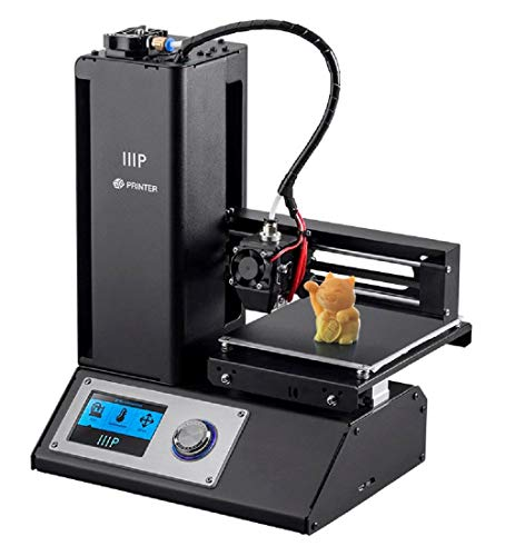 Monoprice Select Mini V23d printer 3d printer with Heated Board and Euro power adapter (Type F), Negro-134620