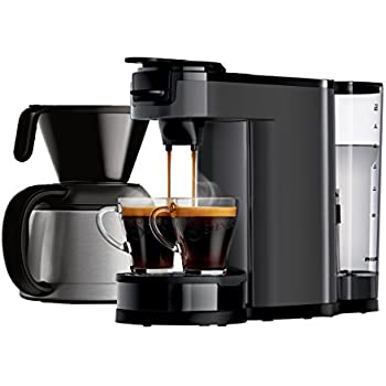 philips senseo hd6592 00 switch 2 in 1 kaffeemaschine wei k che haushalt. Black Bedroom Furniture Sets. Home Design Ideas