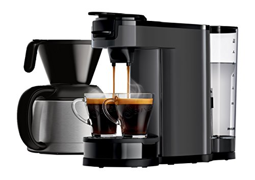 Philips HD7892/21 Senseo (Switch Kaffeevollautomat 2 in 1, 1 L,