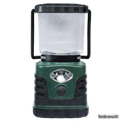 Litexpress Camp 201 grün/schwarz, Camping-Laterne, 4 Hochleistungs-LED bis zu 300 Lumen, Kunststoffgehäuse, Leistungsangabe nach ANSI-Standard von LiteXpress auf Lampenhans.de