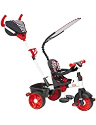 Little Tikes 634345E4 - 4-in-1 Sports Edition Trike, rot/weiß