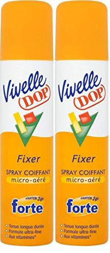 Vivelle Dop - Spray Coiffant Fixation Forte 24h - 250 ml - Lot de 2