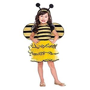 amscan- Bumble Bee 2-3 yrs Disfraz, Color yellow, black (9904179)
