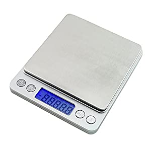 Denshine 500g x 0.01g Taschenwaage Feinwaage Digitalwaage Münzwaage Scale Laborwaage Juwelierwaage Goldwaage