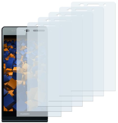 mumbi Schutzfolie kompatibel mit Huawei Ascend P6 Folie klar, Bildschirmschutzfolie (6x)