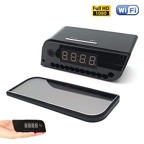 XJYA Cámara espía Mini WiFi Cámara Oculta Reloj
