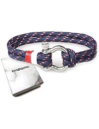 PANENDIANO Marine Bracelet Hoffnung Hope Love Liebe à Cordes Type O
